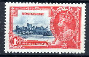 Montserrat Silver Jublee 1d 1935 MH  KGV [M030921-3]