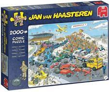 Jumbo 19097 Jan Van Haasteren-The Start 2000 Piece Jigsaw Puzzle, Multi