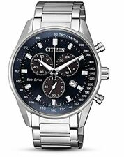 Citizen Eco-Drive Men's Global Collection Chronograph 42mm Watch AT2390-74L