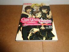 Code Geass: Knight Vol. 5 Manga Book in English