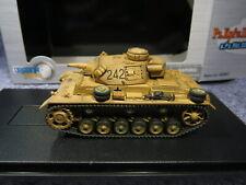 DRAGON ARMOR GERMAN PzKpfw III Ausf N DAK,sPzAbt 501 TUNISIA 1943 # 60603