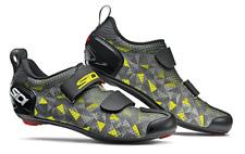 SIDI T-5 Air Triathlon Cycling Shoes - Grey/Yellow/Black [Size: 38~47 EUR]
