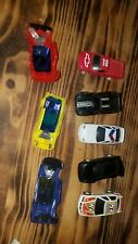 Artin and other 1/43 Lot Of 4 Slot Cars police truck cars
