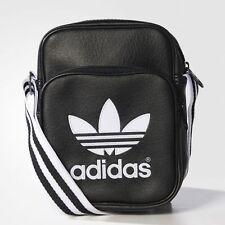 Adidas Originals School Bag Pouch Unisex Mens Adidas Mini Bag Shoulder Bag Black