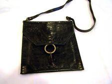KBD Studio black leather purse/handbag/pocketbook, made in Los Angeles