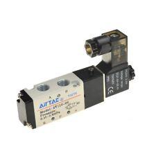 """1PC neumática 5 forma 2 posición 1//8/"""" Airtac Solenoide Válvula 4V110-06 DC24V"""