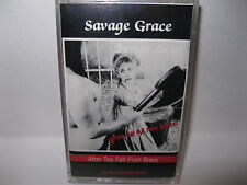 SAVAGE GRACE After the fall from Grace NEW SEALED CASSETTE