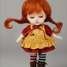 5.7 inch high doll  outfits BBebe Doll Size - Like Pippi Set (Yellow)