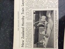 m9-9b ephemera  1960s picture new zealand david carter hornby layout wellington