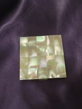 Vintage Mother of Pearl VOLUPTE USA Powder Mirror Compact