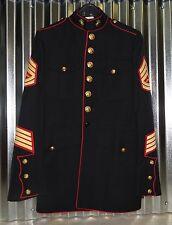 """USMC US MARINE CORPS DRESS BLUES JACKET 42 LONG 42"""" CHEST"""