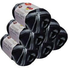 Glimmer Twist Acrylic Yarn 100g 134m Multi Metropolis