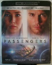 Los pasajeros [4K Ultra Hd + Blu-ray 3D + Blu-ray] ~ Jennifer Lawrence, Chris Pratt