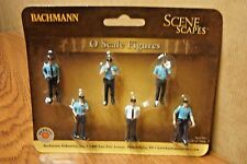 BACHMANN SCENE SCAPES POLICE SQUAD O SCALE FIGURES