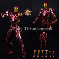 S.H. Figuarts SHF Captain America Civil War Iron Man Mark 46 Action Figure NIB 9