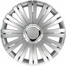 "16"" Active Silver Wheel Trims Hub Caps Set Of 4 for All Vauxhall Van Models"