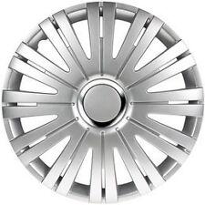 "16"" Argento attivo rifiniture ruota Hub Caps Set di 4 per il traffico VAUXHALL VIVARO VAN"