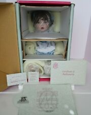 NEW IN BOX MARIE OSMOND COTTON GINNY PORCELAIN DOLL COA #1462 MINT CONDITION