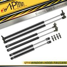A-Premium 6x Hood Tailgate Window Lift Supports for Jeep Grand Cherokee WJ 99-04