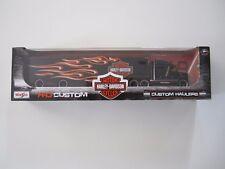 Harley Davidson Custom Hauler  Semi Trailer Rig  NEW IN BOX!