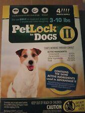 PetLock Ii Flea Treatment for Dogs 3-10 lbs, 4 month supply