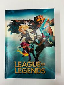 League of Legend Diario agenda Scuola non datato, misura standard, Nero/Verde