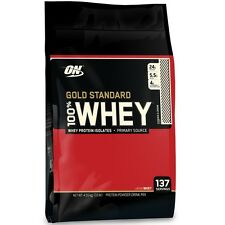 Gold Standard Whey 10lb / 4.5kg Optimum Nutrition WPI WPC Protein