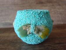 Zuni Indian Pottery Turquoise Fetish Pot by Marvelita Phillips