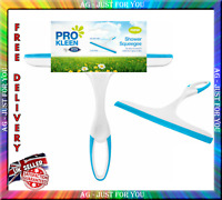 New Shower Squeegee Window Cleaner Tile Mirror Soap Carpet Rubber Wiper Blade