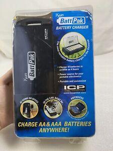 ICP Solar MODEL 22001 iSun BattPak AA & AAA Battery Charger - NEW!