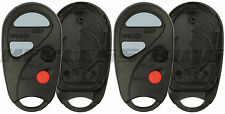 2 New Replacement Keyless Entry Remote Key Fob Case Shell Pad for NHVBU427