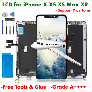 For iPhone X XR XS Max Replacement LCD Touch Screen Display Digitizer True Tone