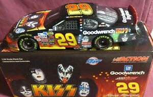 """KEVIN HARVICK, 124 ACTION 2004 """"KISS"""", CHEVY ROCK N ROLL, MONTE CARLO, #29"""
