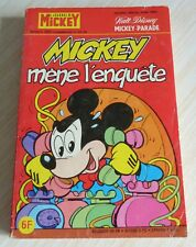 BD LE JOURNAL DE MICKEY MICKEY PARADE HORS SERIE 1433 BIS MICKEY MENE L'ENQUETE