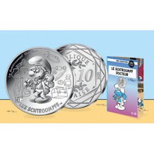 10 Euros Argent 2020 '' Collection Schtroumpf '' 6/20