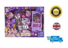 Diana Magical Fairy Princess Doll With Puppy Furniture Accessories Purple