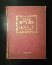 1922 Nouvelle Histoire De France by Albert Malet, French History War Middle Ages
