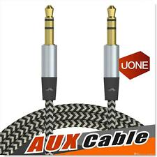 AUX CORD 3.5MM MALE TO MALE AUXILIARY AUDIO CABLE FOR CAR HEADPHONE IPHONE 3FT