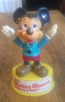 Vintage Gabriel Mickey Mouse Push-Up Puppet 1977 Walt Disney Hong Kong