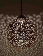 Moroccan Pendant Light Brass Antique Vintage Lamp Hanging Chandelier Ceiling
