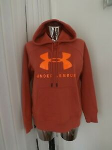 UNDER ARMOUR RIVAL FLEECE LOGO HOODIE SIZE SM / P / CH MAYBE FIT SIZE 8 10 ? NEW