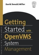 HP Technologies: Getting Started with OpenVMS System Management by David...