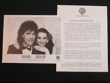 GARY MORRIS/CRYSTAL GAYLE 'WHAT IF WE FALL IN LOVE' 1987 PRESS KIT--PHOTO