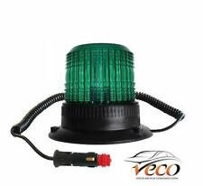 GREEN MAGNETIC SAFETY SEATBELT LED BEACON CONSTRUCTION PLANT MACHINERY AMB932G