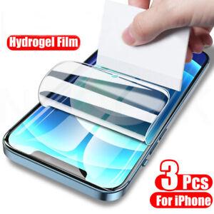 3pcs FULL COVER Screen Protector TPU Hydrogel Film For iPhone 12 Huawei P30