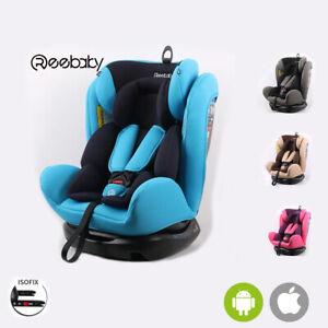 Seggiolino sediolino auto + antiabbandono incluso Isofix 0-36 Kg bambini
