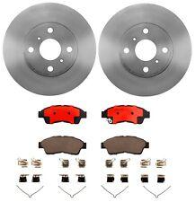 Brembo Front Brake Kit Ceramic Pads Vented Disc Rotors for Prizm Toyota Corolla
