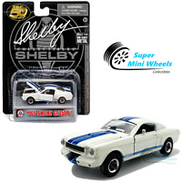 Shelby Collectibles 1:64 - 1965 Ford Mustang Shelby GT350R (White) - Diecast