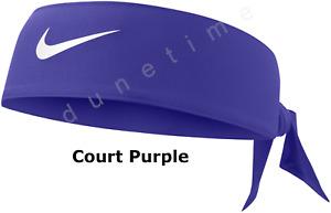 █ NEW █ NIKE Head Tie Headband Sweatband Tennis Basketball Serena Federer Nadal