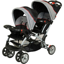 Baby Trend Double Sit N Stand Stroller Buggy Twin Push Chair Toddler Twins Cart